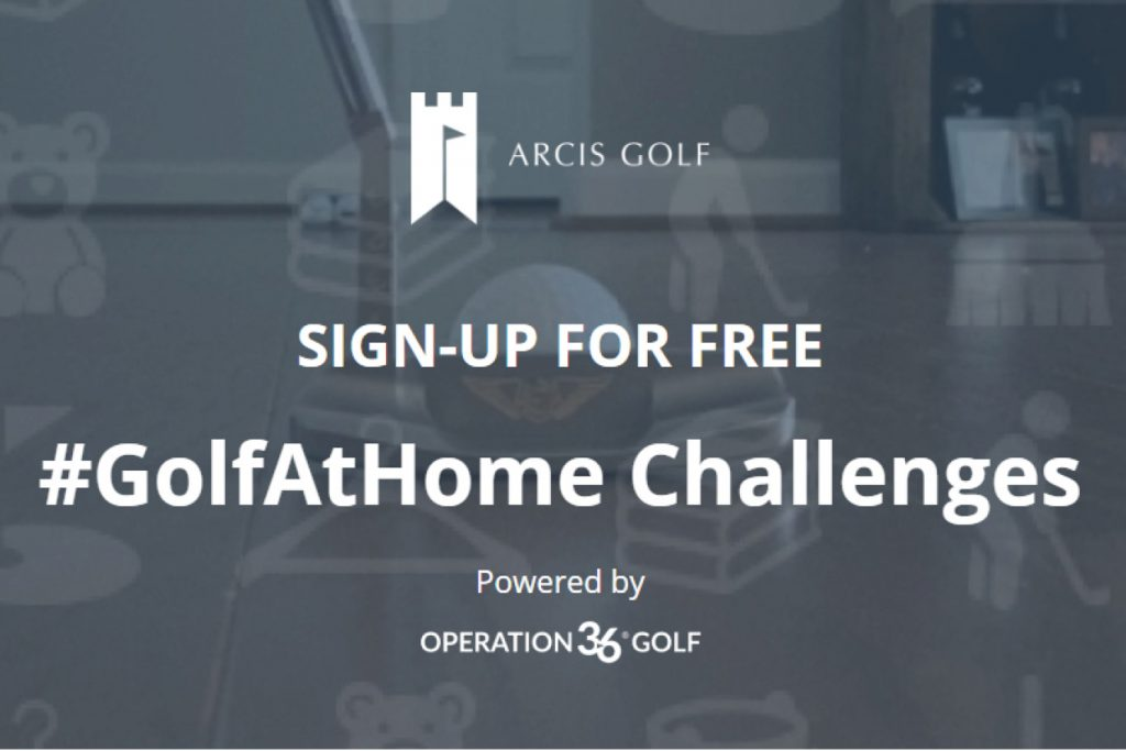 arcis golf at home challenge photo
